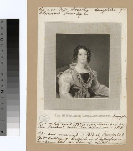 Portrait of Anne Jane, Lady Audley