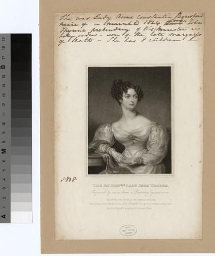 Portrait of Lady John Thynne