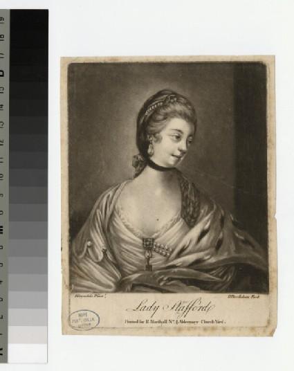 Portrait of Lady Strafford