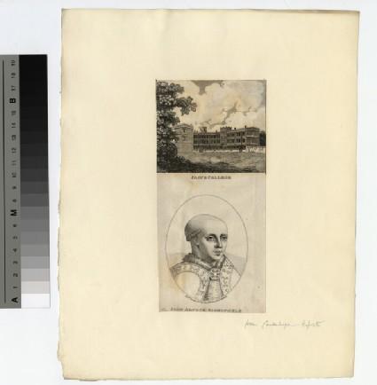 Portrait of John Alcock