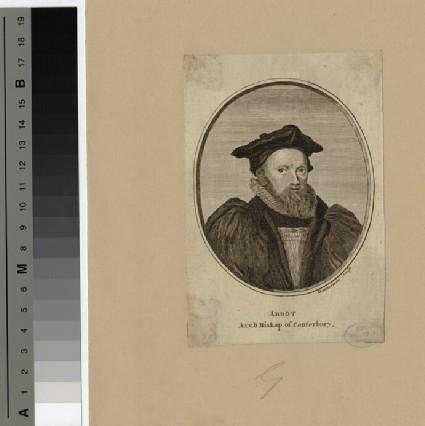 Portrait of George Abbot