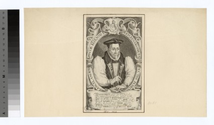 Portrait of Lancelot Andrewes, Bishop of Winchester