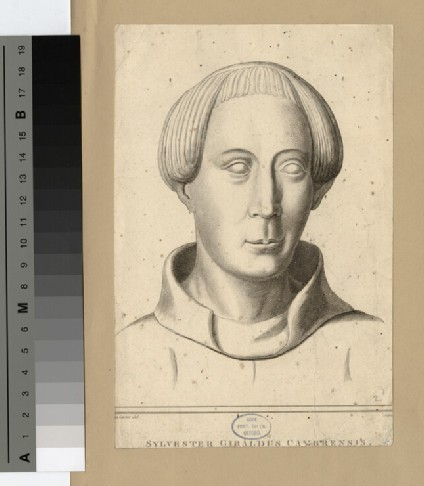 Portrait of Giraldus Cambrensis