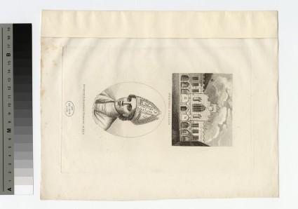Portrait of Bishop de Balsham