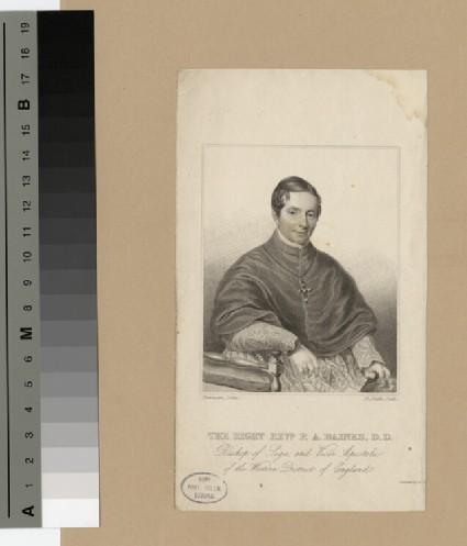 Portrait of Bishop Baines