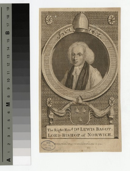Portrait of Bishop Bagot