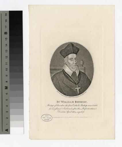 Portrait of Dr W. Bishop