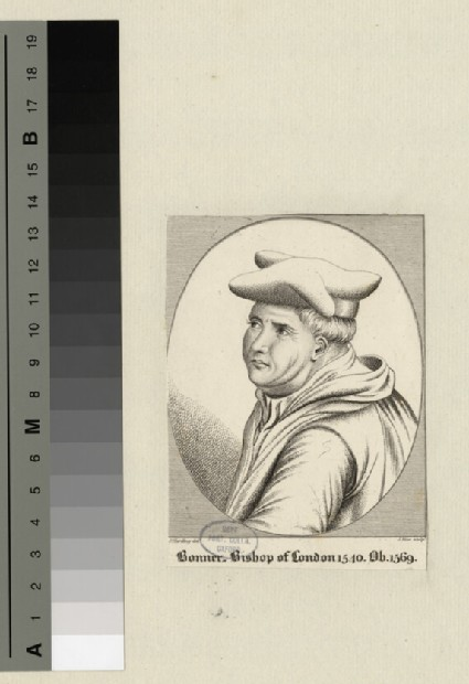 Portrait of Bishop Bonner