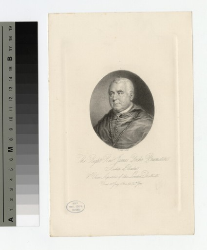 Portrait of James Yorke Bramston