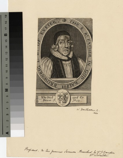 Portrait of Bishop Brownrigg