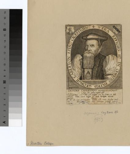 Portrait of Bishop George Carleton