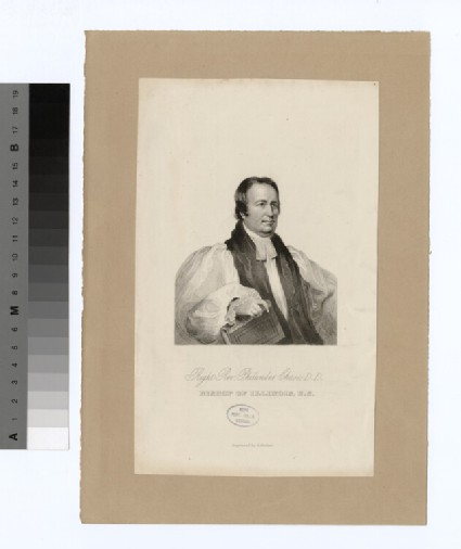 Portrait of Bishop P. Chase