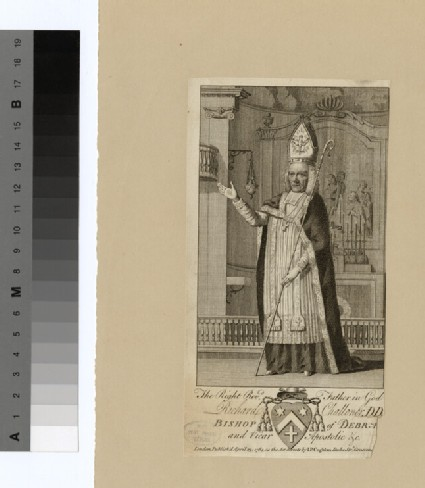 Portrait of Bishop Challoner