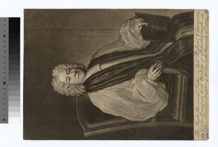 Portrait of Bishop Clavering