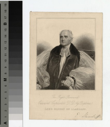 Portrait of Bishop E. Copleston