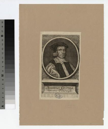Portrait of Bishop Cosin