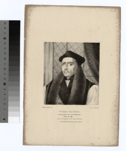 Portrait of Archbishop Cranmer
