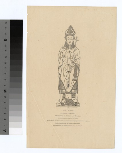 Portrait of Archbishop Cranley