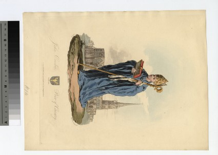 Portrait of Prior Crosbie
