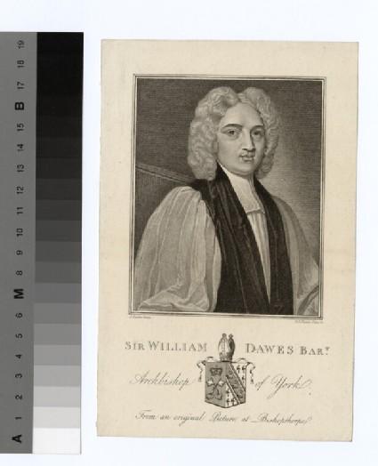 Portrait of Archbishop Dawes