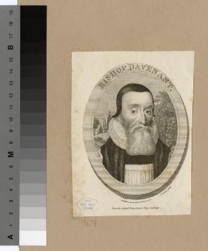 Portrait of Bishop Davenant