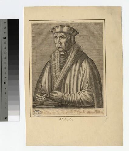 Portrait of Bishop J. Fisher