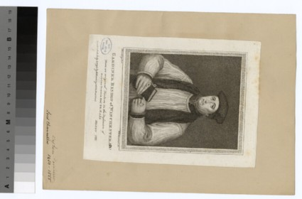 Portrait of Bishop Gardiner