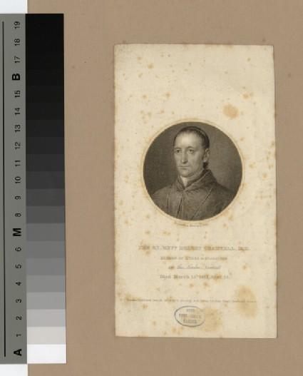 Portrait of Bishop Gradwell