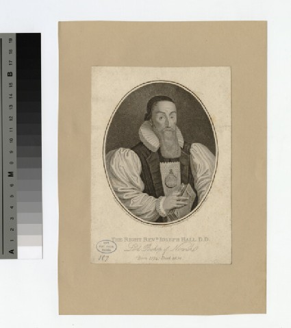 Portrait of Bishop Hall