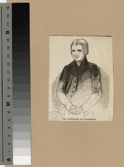 Portrait of Archbishop Howley