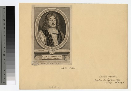 Portrait of Bishop Hopkins