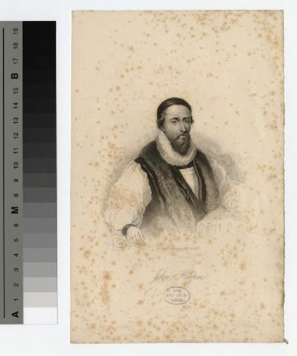 Portrait of Bishop J. Hooper