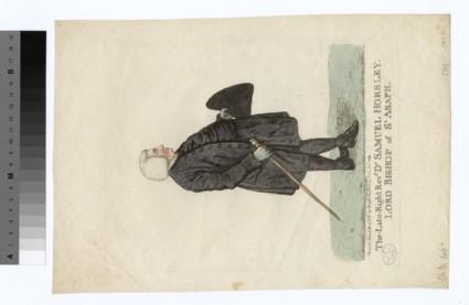 Portrait of Bishop Samuel Horsley