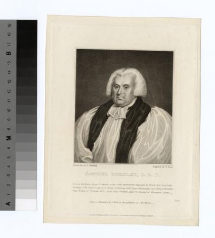 Portrait of Bishop Horsley