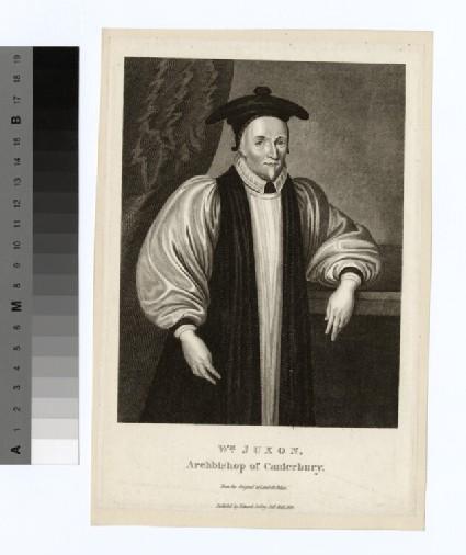 Portrait of Archbishop Juxon