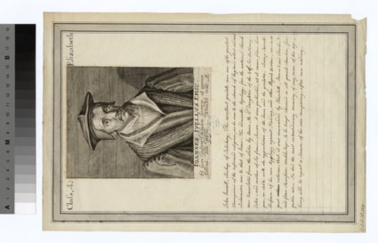 Portrait of Bishop Jewel