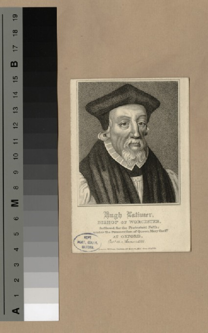 Portrait of Bishop Latimer