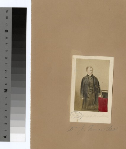 Portrait of Bishop P. Lee