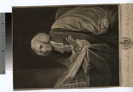 Portrait of Bishop Lowth