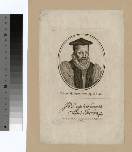 Portrait of Archbishop Matthew