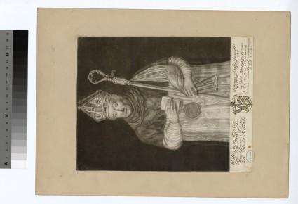 Portrait of Bishop W. de Merton