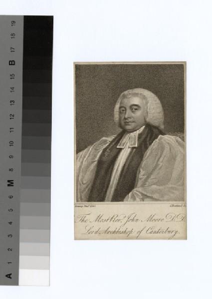 Portrait of Archbishop Moore
