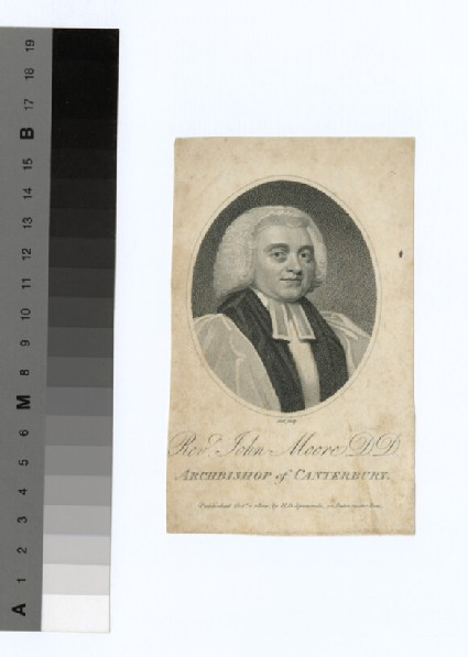 Portrait of Archbishop J. Moore