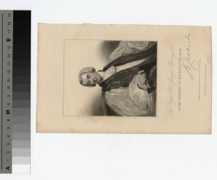 Portrait of Bishop George Murray