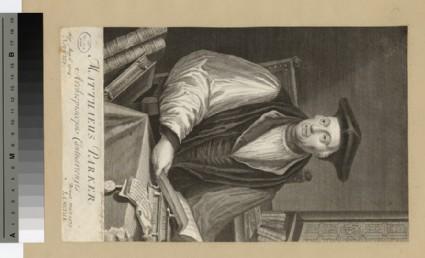 Portrait of Archbishop M. Parker