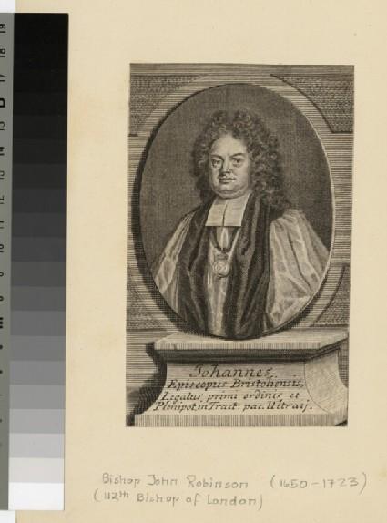 Portrait of Bishop Robinson