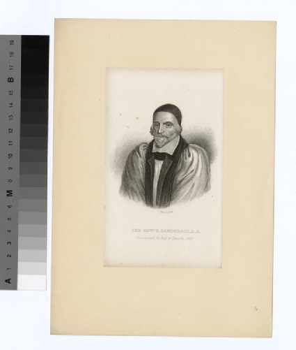 Portrait of Bishop Sanderson