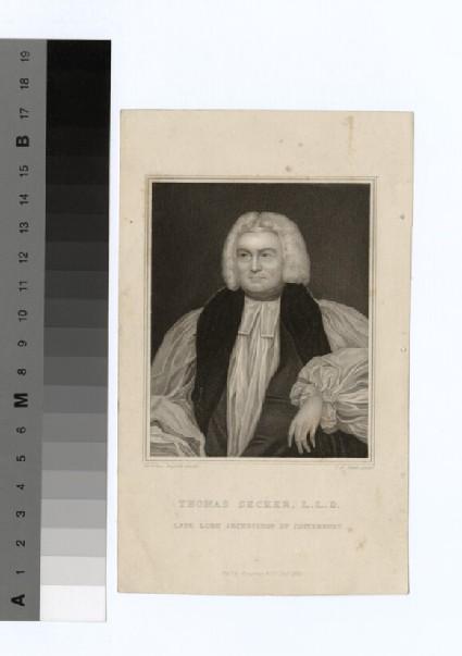Portrait of Archbishop Secker