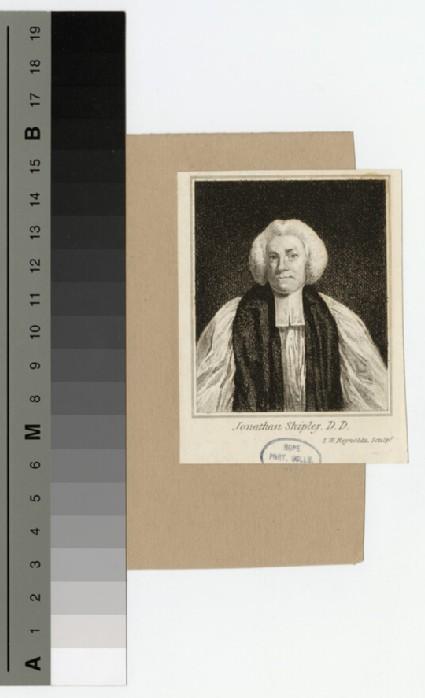Portrait of Bishop Shipley
