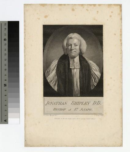 Portrait of Bishop Jonathan Shipley